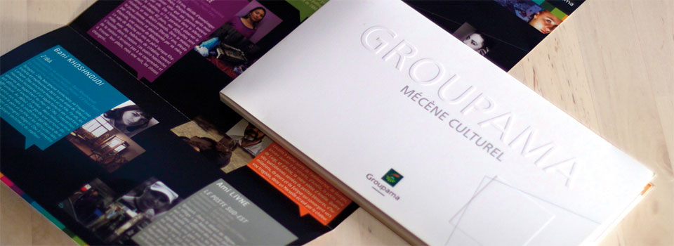 Groupama | Plaquette Corporate