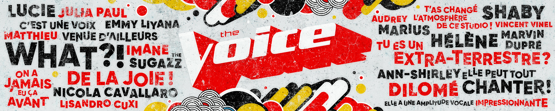 The Voice France - Fresque