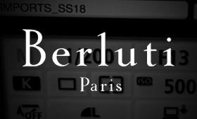 Berluti | Préparation des shows