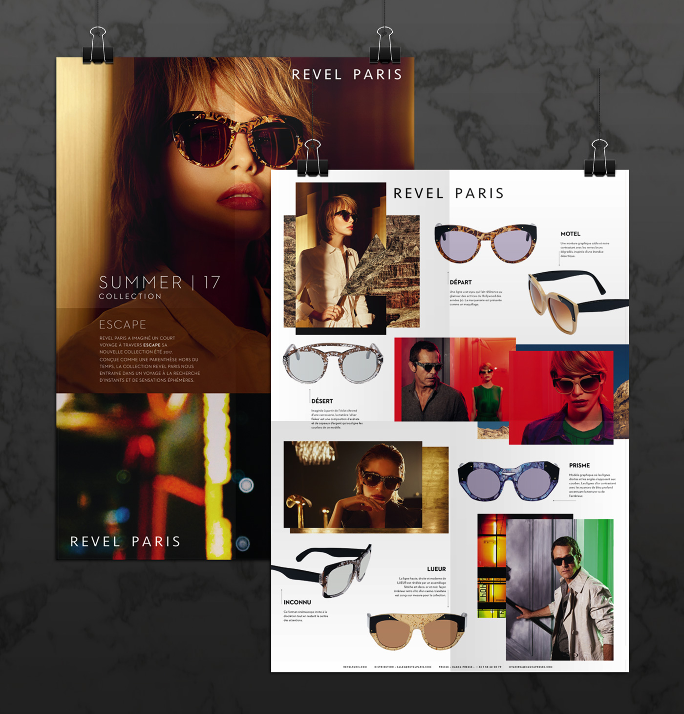 Revel Paris, lunettes