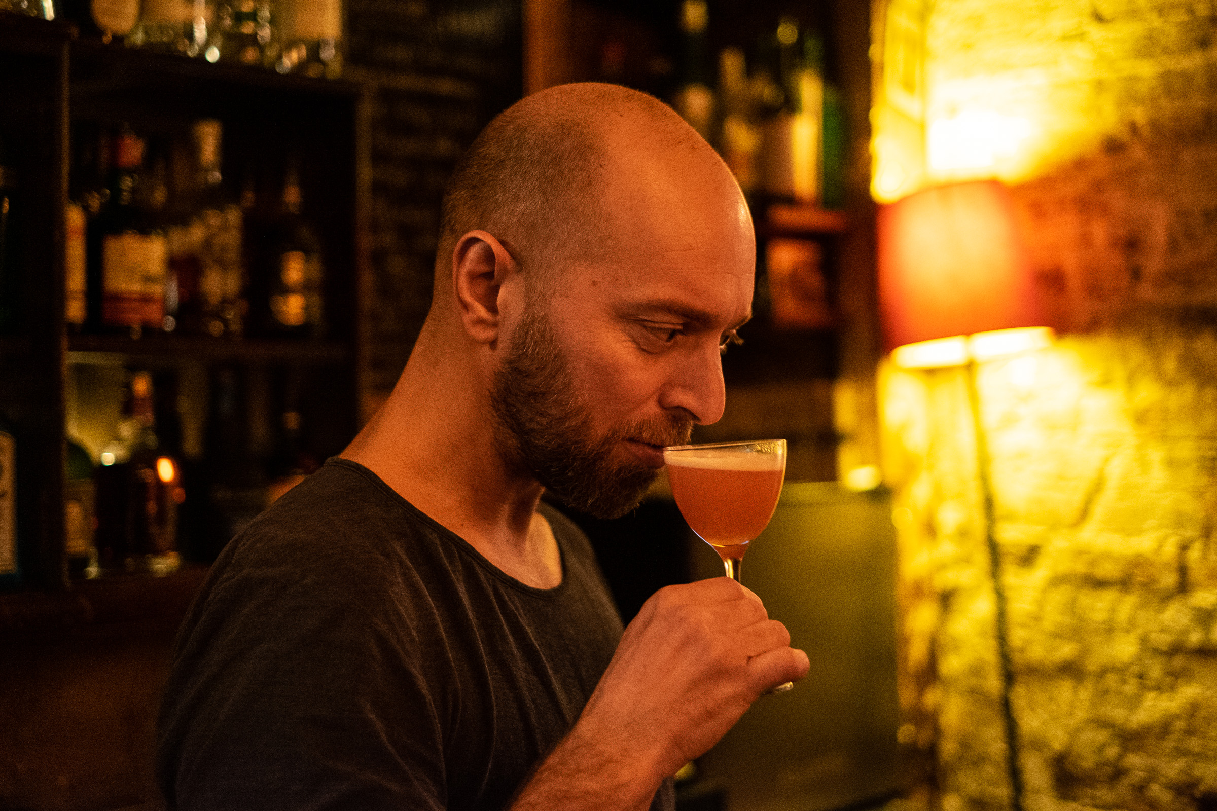 Fiftyfifty Bar - Cocktail - Photos Damien Rossier