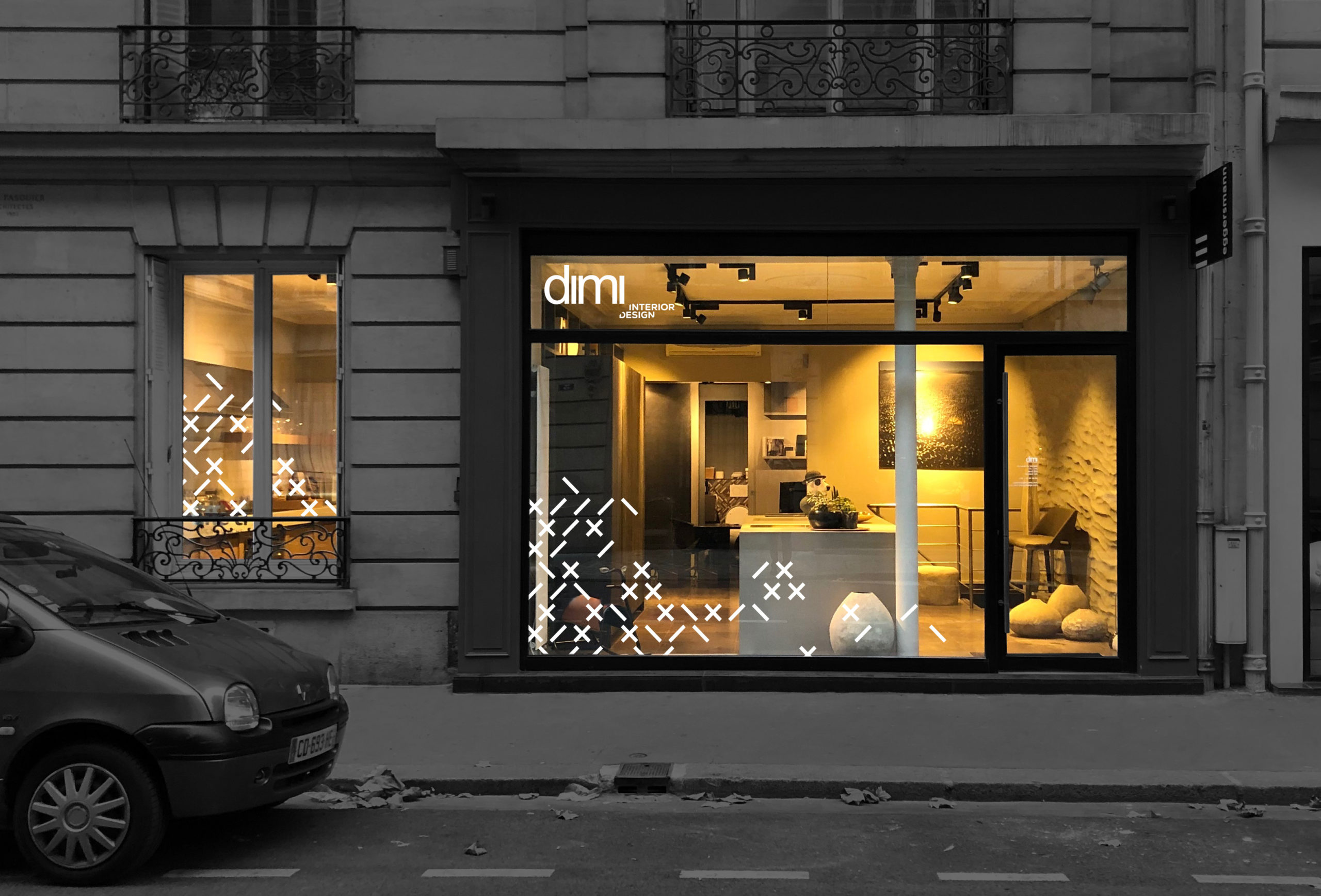 Dimi interior Design - Identité visuelle - Damien Rossier Graphisme