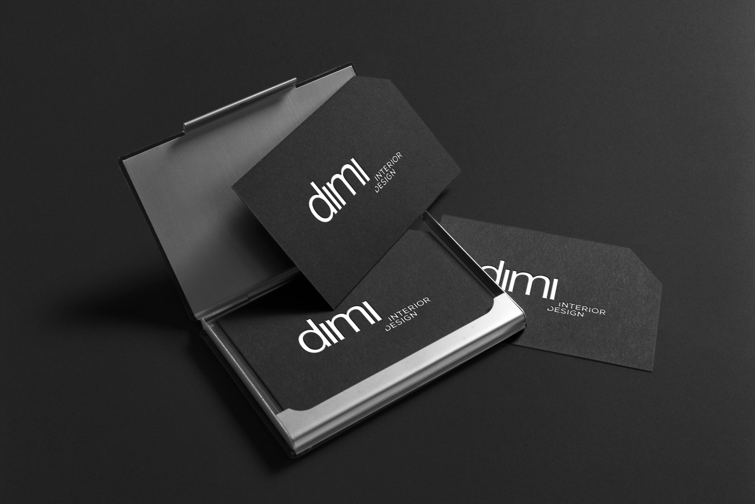 Papeterie - Dimi interior Design - Identité visuelle - Damien Rossier Graphisme