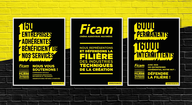 Ficam, nouvelle identité visuelle - Damien Rossier Design Graphique