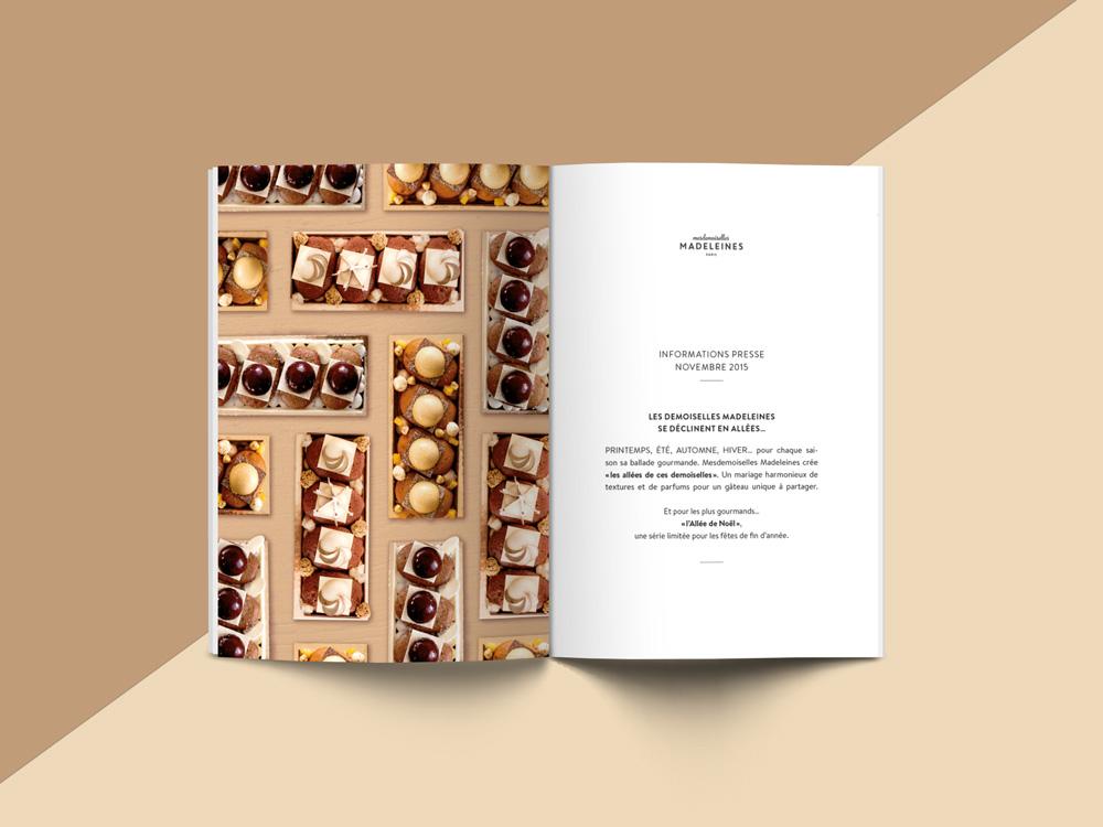 Mlles Madeleines - Shooting et identité visuelle - Damien Rossier Design Graphique