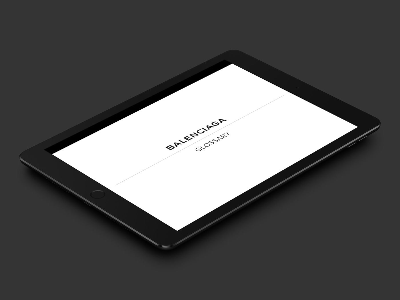 Balenciaga Glossary, service après vente ebook - Damien Rossier