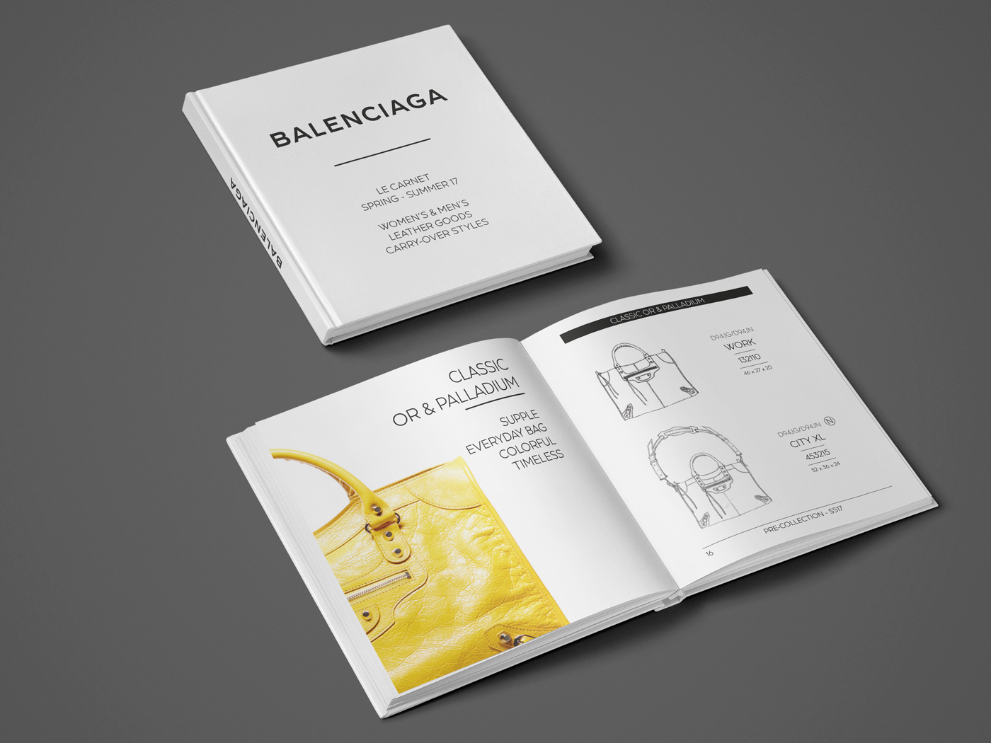 Balenciaga - Le Carnet des collections - Damien Rossier