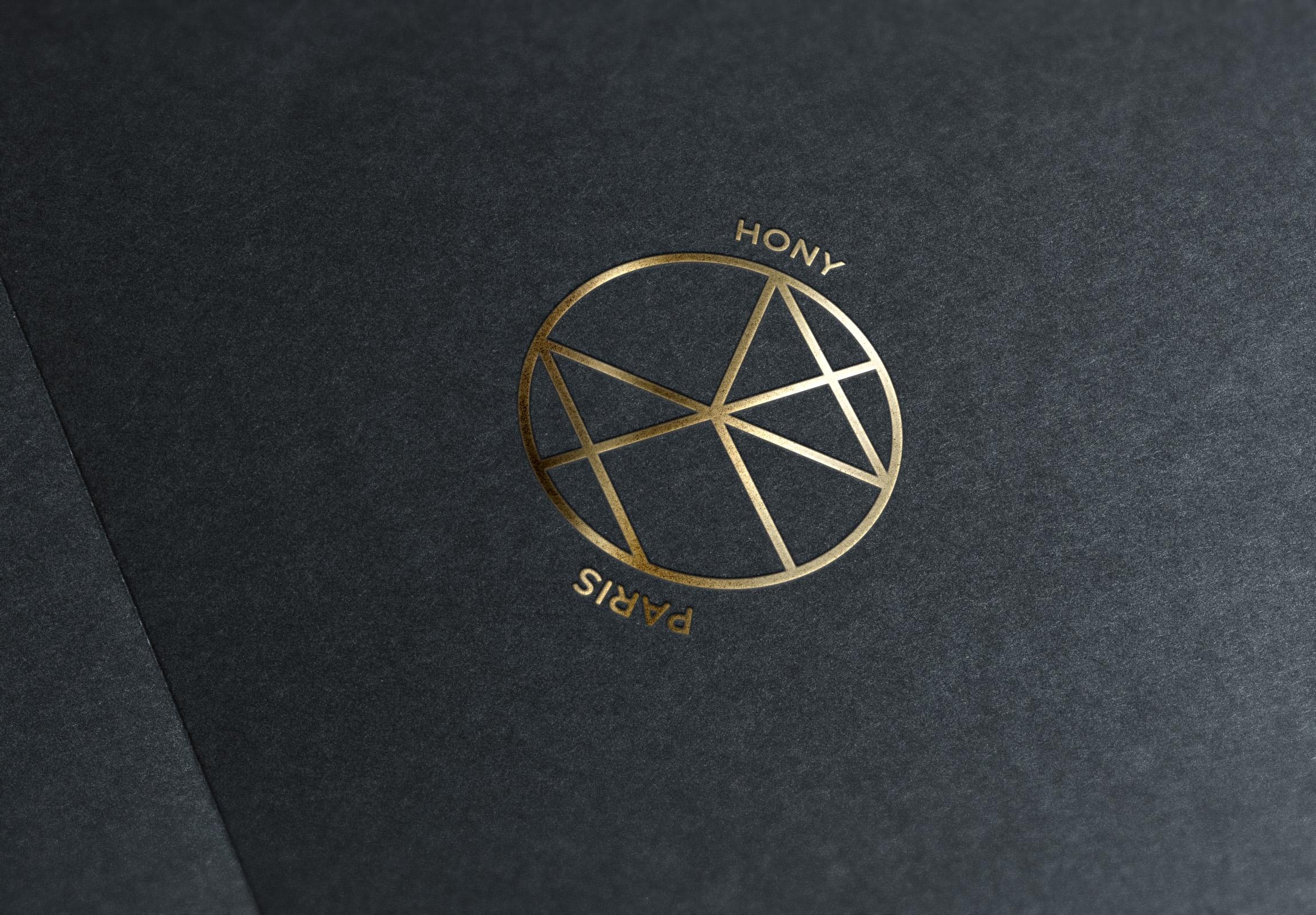 Identité Visuelle Hony Paris