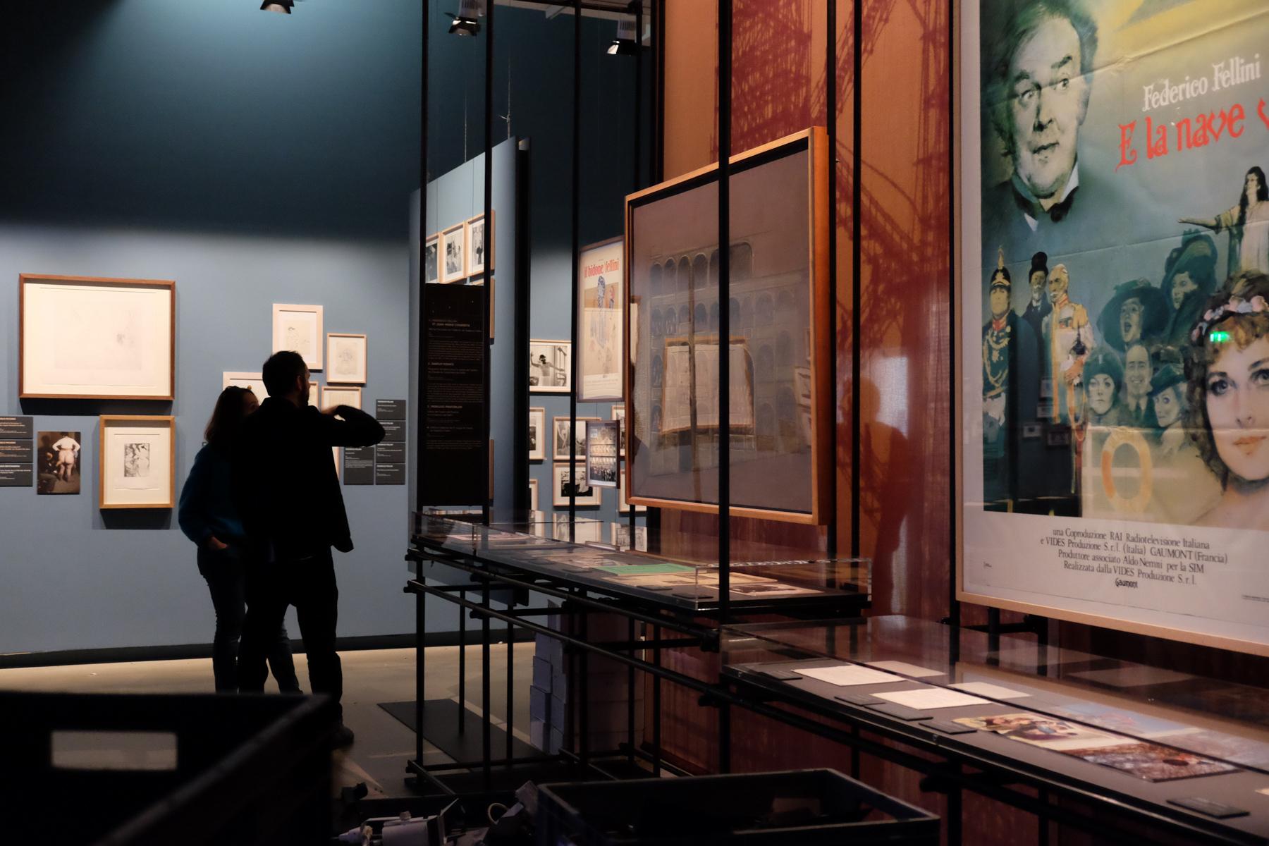 Exposition Quand Fellini rêvait de Picasso - Scénographie