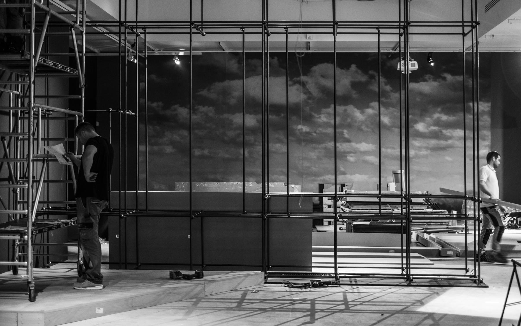 Exposition Fellini Picasso Scénographie