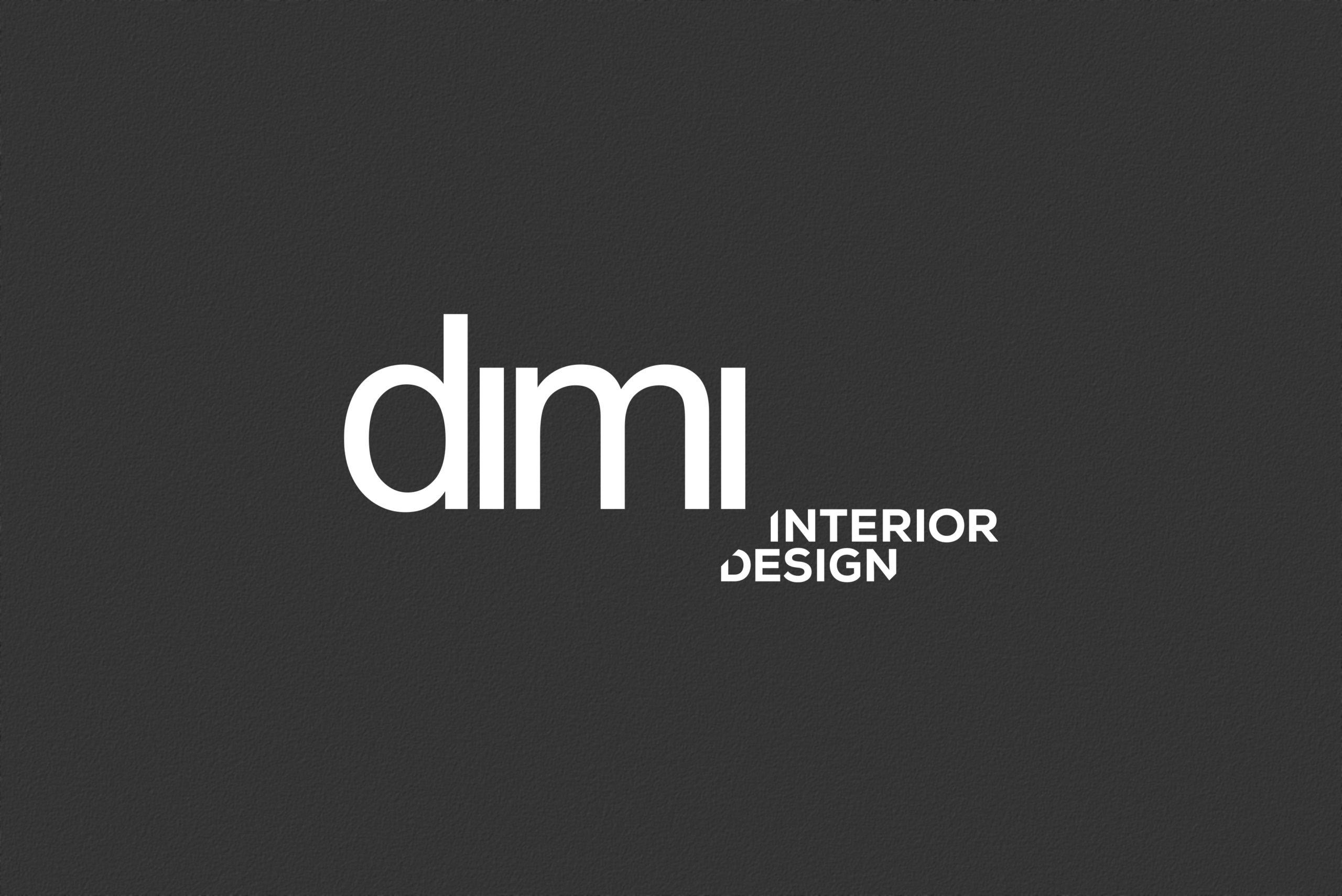 Papeterie - Dimi interior Design - Identité visuelle - Damien Rossier Graphisme Logotype
