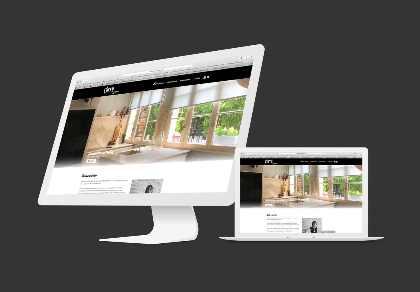 Dimi Interior Design Site Web