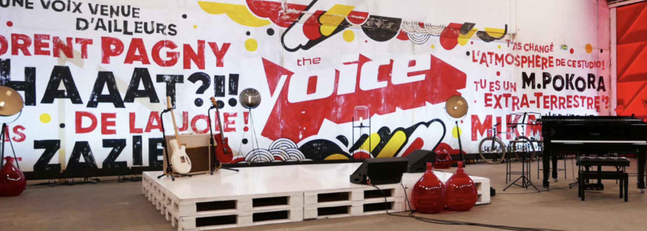 The Voice et The Voice Kids scénographisme