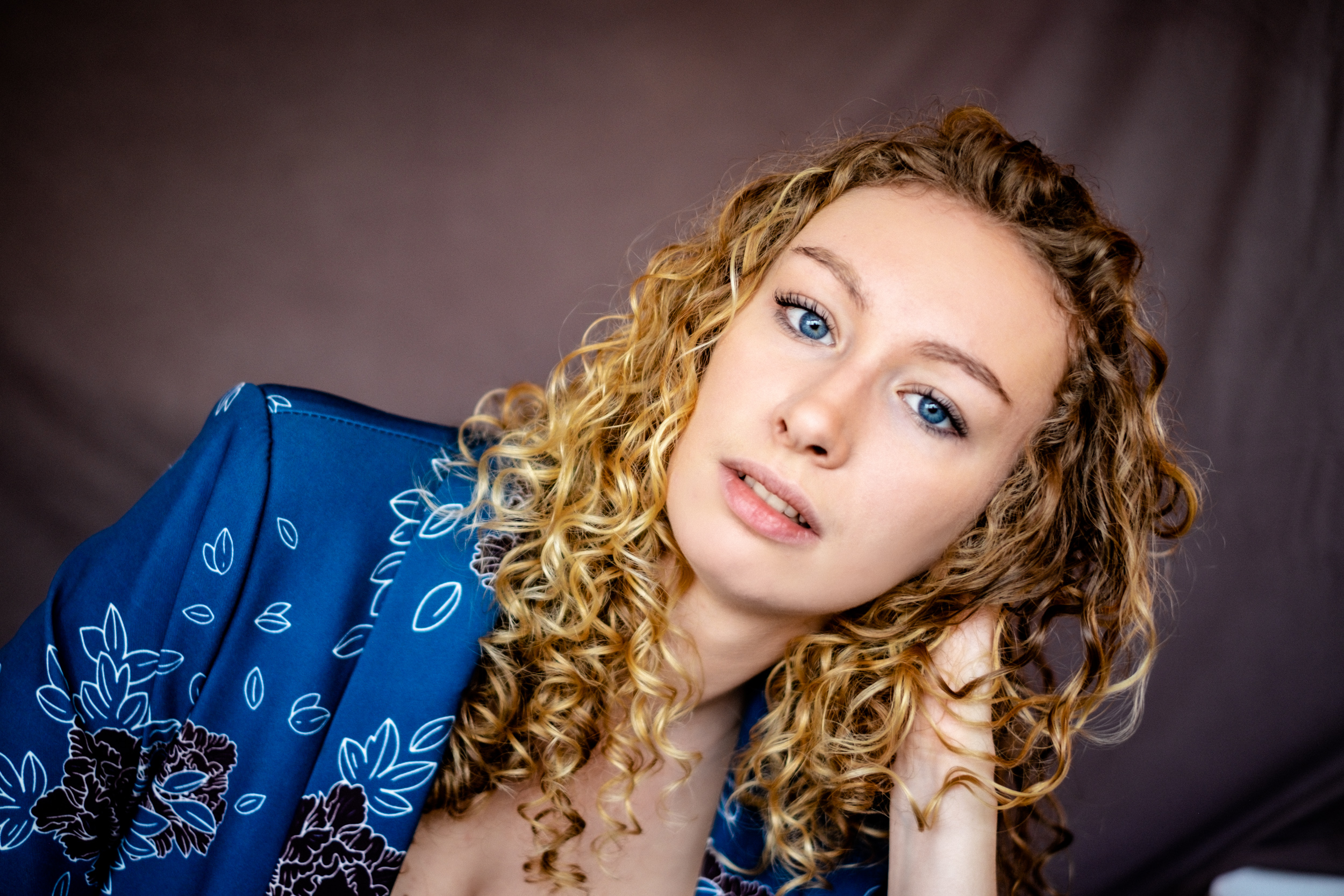 Portrait Damien Rossier Julie Bauer