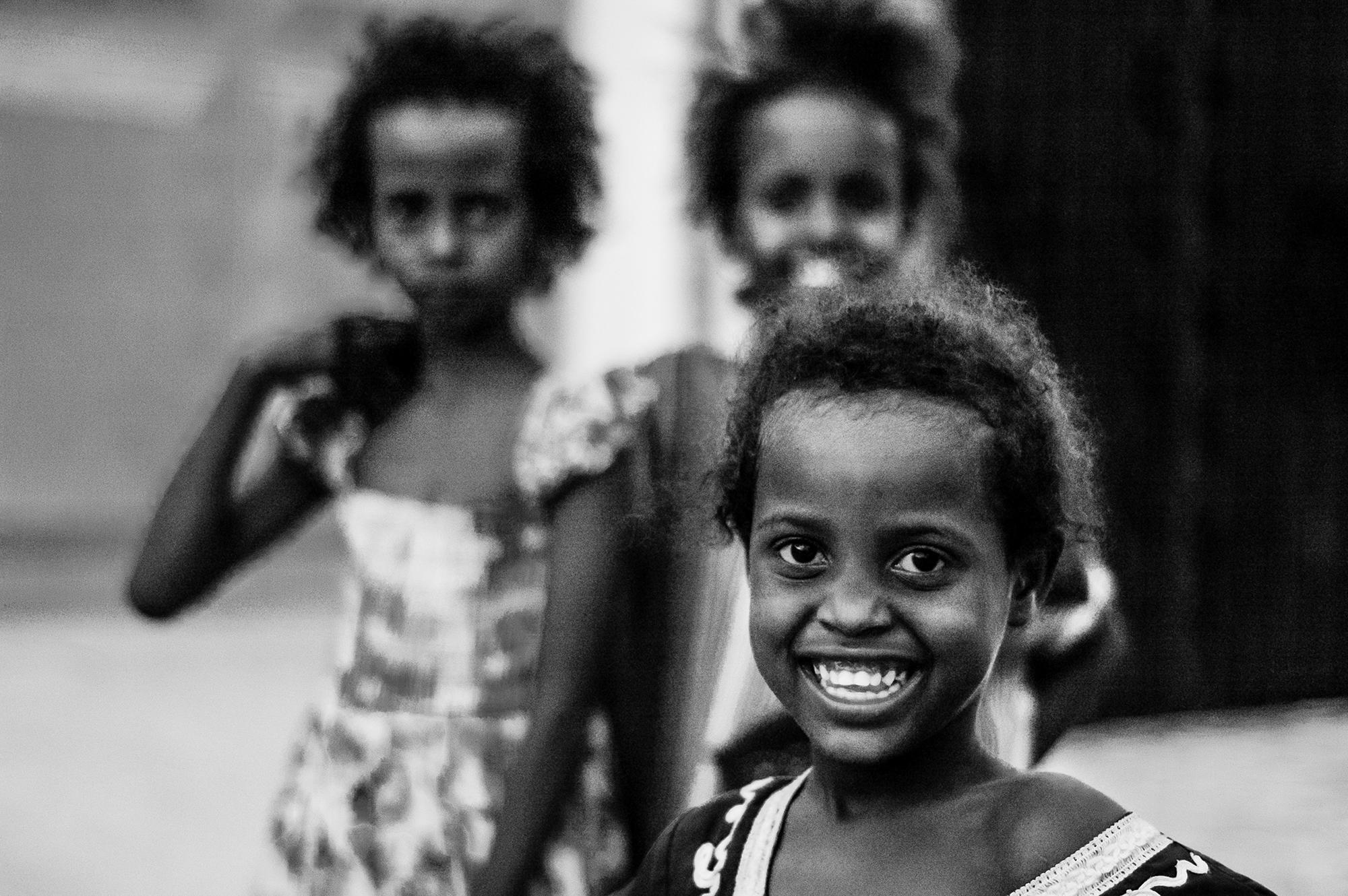 Enfants de la mer rouge - Djibouti - photo Damien Rossier