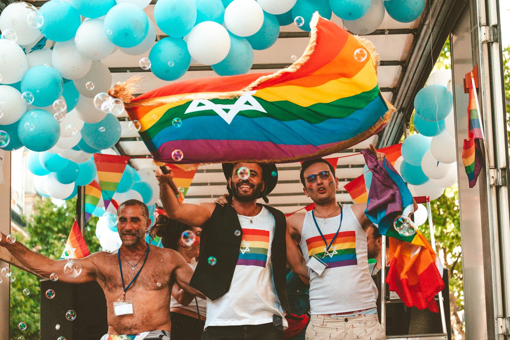 Marche des fiertés - gay Pride - photo Damien Rossier